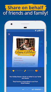 ShareTheMeal –by the United Nations WFP- screenshot thumbnail