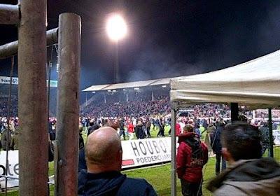 Bagarre entre supporters d'Eupen et de l'Antwerp ! (Photos + Vidéo)