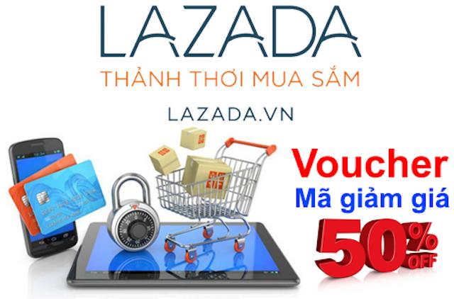Các bạn có thể áp dụng tối đa 4 mã giảm giá Lazada sưu tầm trên cùng một đơn hàng