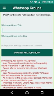 Groups Finder for Whatsapp - náhled