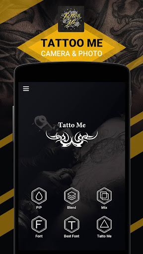 Tattoo Me Camera- Tattoo Photo screenshot