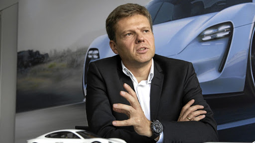 Stefan Weckbach, head of battery-electric vehicles (BEV) at Porsche