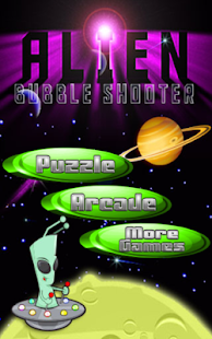 Alien Bubble Shooter - náhled