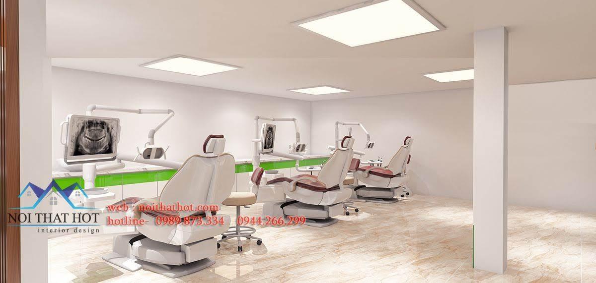 mẫu phòng khám răng