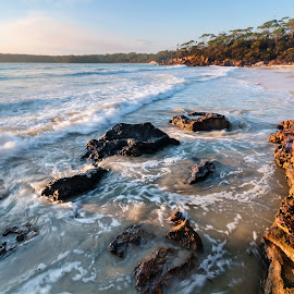 From The Rocks by Geoffrey Wols - Landscapes Waterscapes ( bendalong, coast,  )
