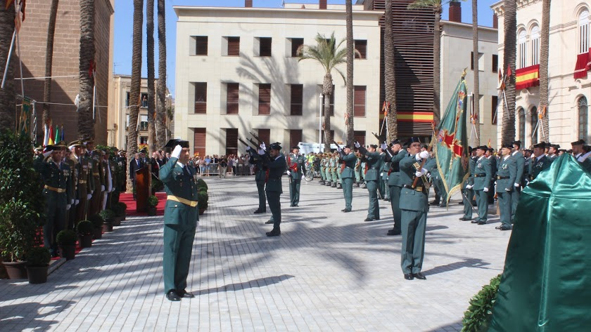 La Guardia Civil celebrará sus actos patronales en Roquetas de Mar