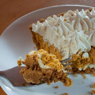 No-Bake Pumpkin Pie.