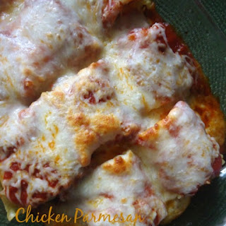 Chicken Parmesan Roll Ups