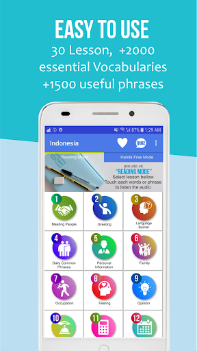 B2B Learn Bahasa Indonesia 1.2 screenshots 1