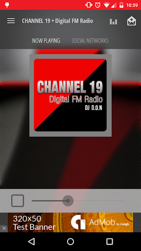 CHANNEL 19 • Digital FM Radio