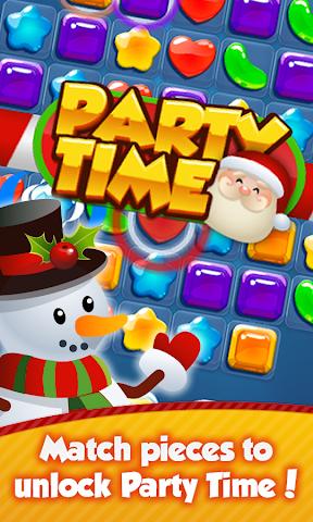 android Santa Party: Xmas Crush Saga Screenshot 1
