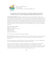 Photo: Putt for Hope Event Press Release