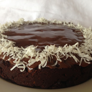 Donna Hay fast melt and mix chocolate coconut cake