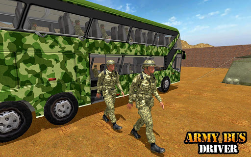 Army Bus Driving 2019 - Military Coach Transporter 1.0.8 screenshots 10