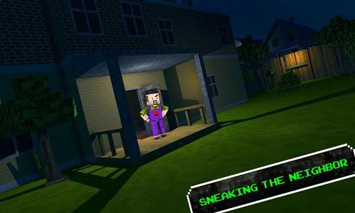 Blocky Dude - Scary Game 1.9 screenshots 1