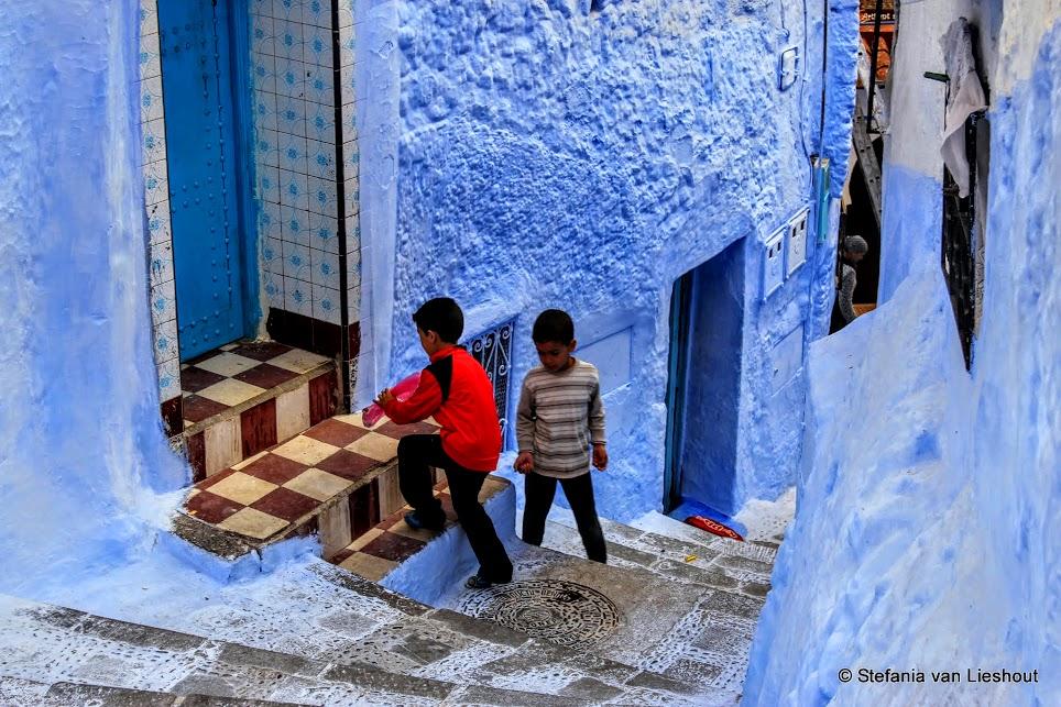 Marokkaanse kinderen op straat