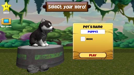 狗逃生3D模擬器免費!