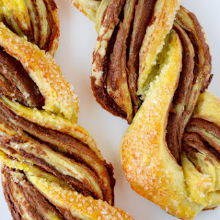 Chocolate Puff Pastry Twists.