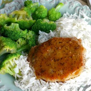 5-Ingredient Orange Glazed Pork Chops.