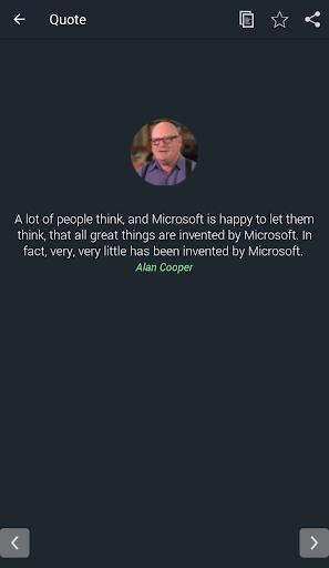 Alan Cooper Quotes 1.7 screenshots 2
