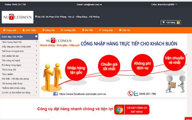 Nute.com.vn order addon