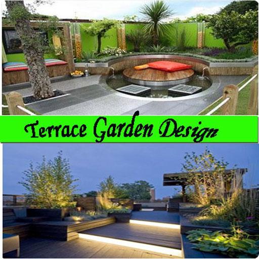 terrace garden design screenshot