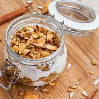 Vegan Maple Pumpkin Granola {Gluten-Free} Recipe
