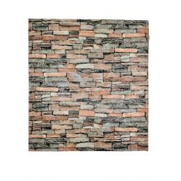 Set 5 x Placa de tapet adeziv caramizi, Stone Bricks 3, 77x70 cm