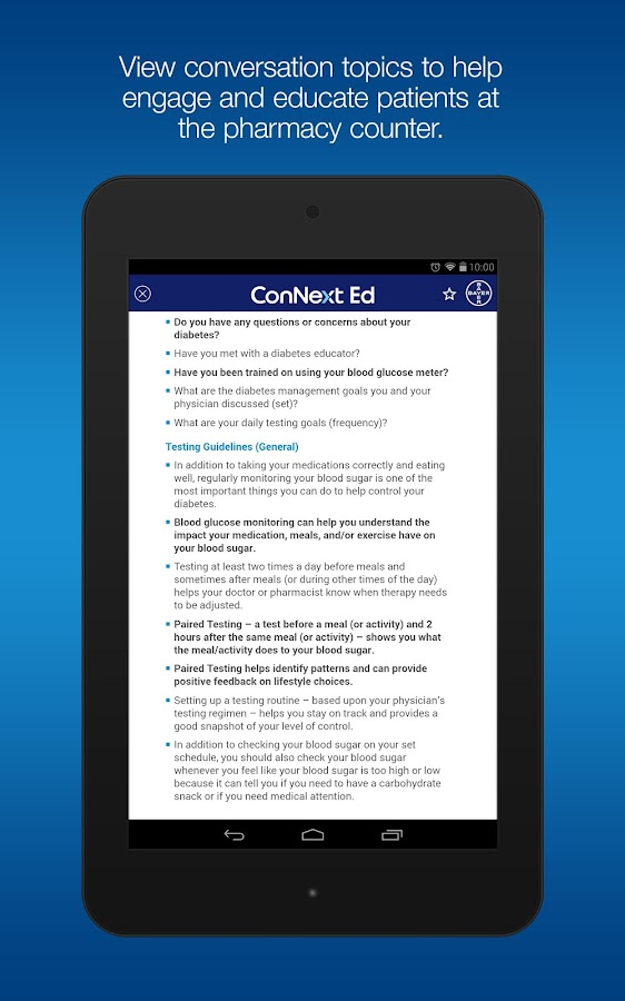 ConNext Ed- screenshot