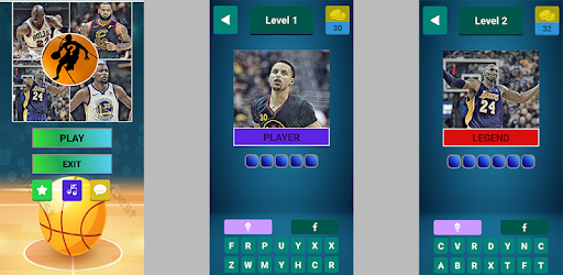 NBA Quiz - Basketball Game captures d'écran