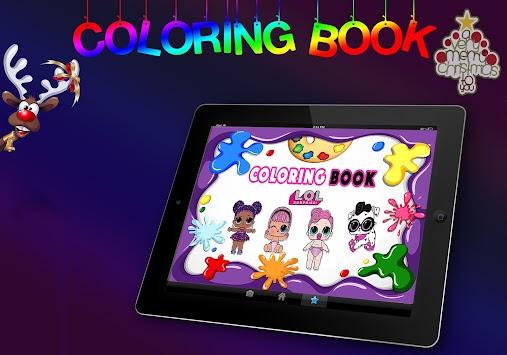 Download Buku Mewarnai Lol Kejutan Boneka Bayi Apk Latest Version
