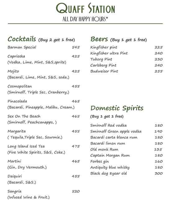 Quesso Ristorante menu 8