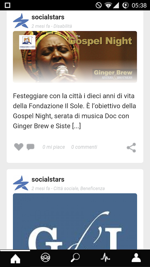 Socialstars- screenshot
