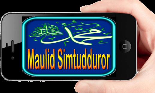 Maulid Simtudduror - náhled