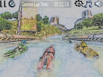 Water Racing Jet Ski - náhled
