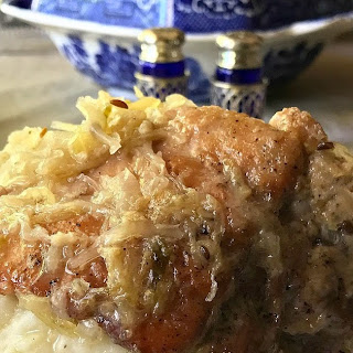 Pork Spareribs and Sauerkraut