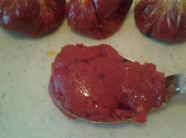 Carmelized Tomatoe Paste Recipe