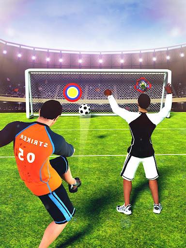 Télécharger Gratuit Real Football Strike - Champion de la Ligue de  APK MOD (Astuce) screenshots 1