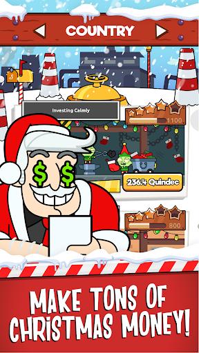 Code Triche Santa's Capitalist Factory - Idle Xmas Tycoon  APK MOD (Astuce) screenshots 2
