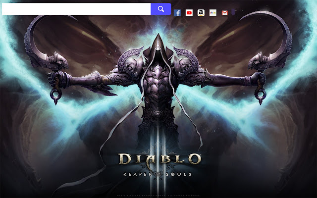 Diablo 3 Game HD Wallpapers New Tab