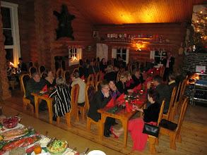 Photo: Pikkujoulu pidettiin Taistelijan Talolla.