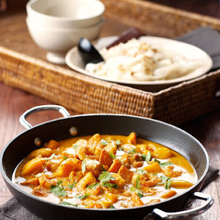 Red Prawn and Mango Curry.