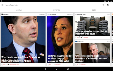 News Republic – Breaking news Screenshot 3