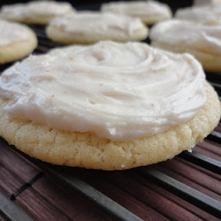 Browned Butter Crinkles with Browned Butter Frosting