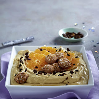 Coffee, Amaretti and Clementine Cream