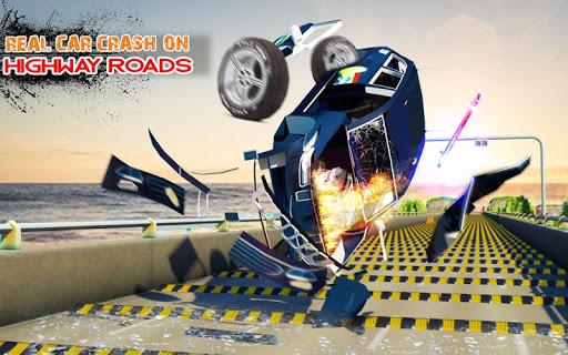 Deadly Car Crash Engine Damage: Speed Bump Race 18 screenshot 9