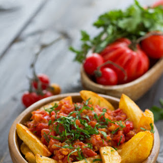 Airfryer Spanish Spicy Potatoes (Patatas Bravas)