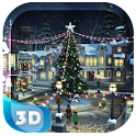 Snow Village 3D Live Wallpaper icon