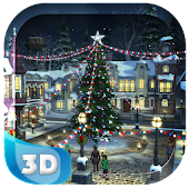 Snow Village 3D Live Wallpaper