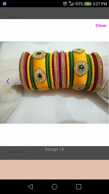 Silk Thread Bangle Designs - screenshot